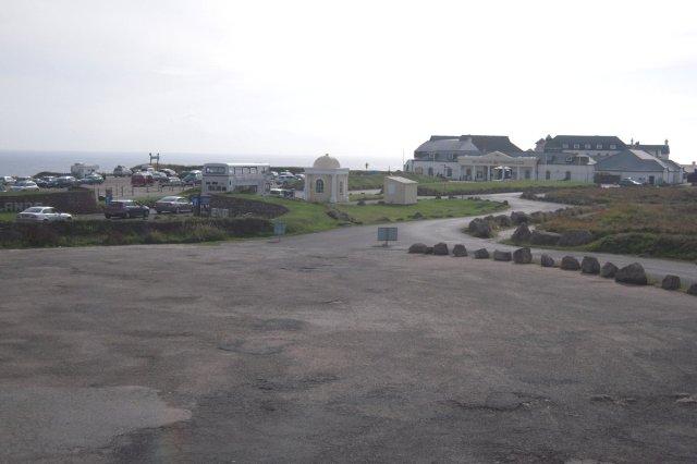 Lands End parking