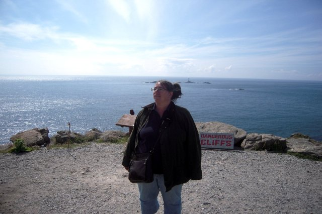 Yours truly vid Land's End
