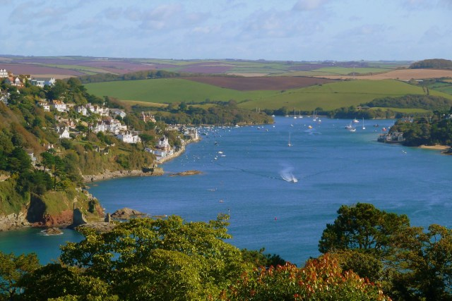 Salcombe from Overbecks