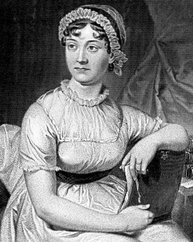 Jane Austen  Bild: Wikipedia