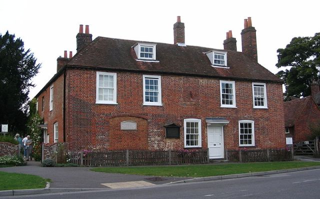 Jane Austen's hus och museum.  Foto: Rudi Riet (Wikipedia)