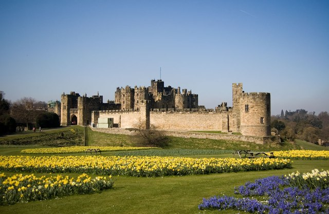 Alnwick Castle   Foto: Phil Thomas (Wikipedia)