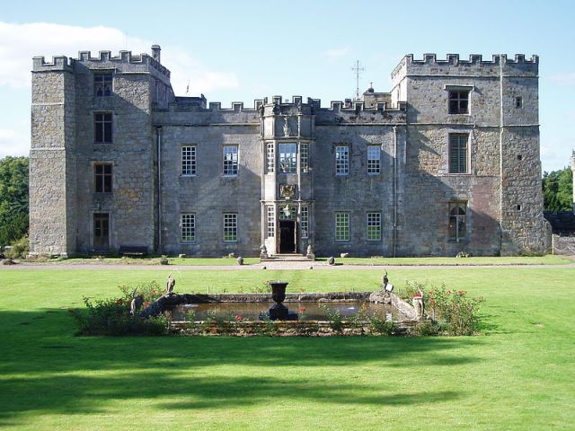 Chillingham Castle Foto: Glen Bowman (Wikipedia)